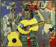 An Exhibition Featuring Romare Bearden's Art