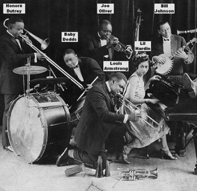 Timeline of King Oliver's Creole Jazz Band (1917-1923)