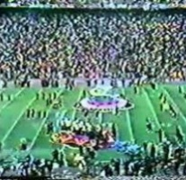 The last Super Bowl halftime show that featured jazz music