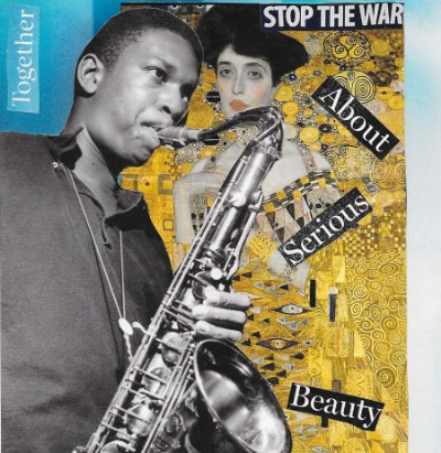 """John Coltrane (for Amiri Baraka)"" — a poem (with collage) by Steve Dalachinsky"