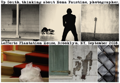 """Me, Thinking about Nona Faustine"" — a photo-narrative by Charles Ingham"