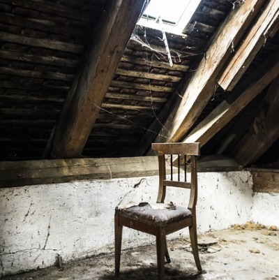 """Up in the Attic"" — a poem by Alan Yount"