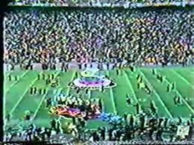 """A Moment in Time"" — January 12, 1975…The last Super Bowl halftime show featuring jazz music"
