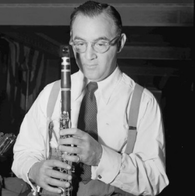 photo of Benny Goodman by William Gottlieb/Library of Congress