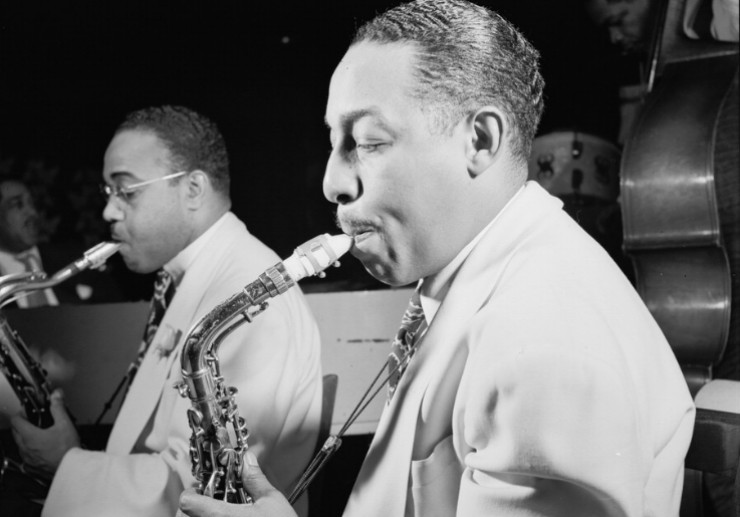 photo of Johnny Hodges by William Gottlieb/Library of Congress