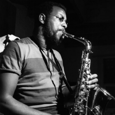 Ornette Coleman 1966/photo courtesy Mosaic Images