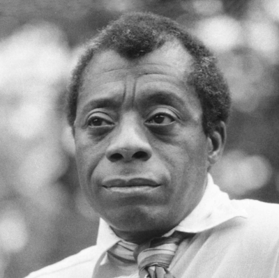 photo of James Baldwin by Allan Warren